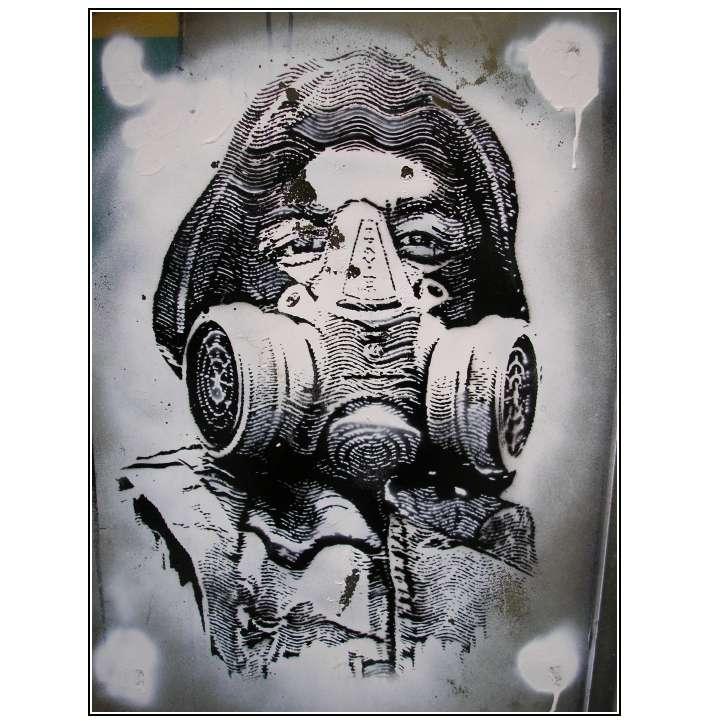 Schwer Luft Bekommen Foto Bild Streetart Kunstfotografie