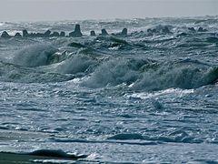schwere See vor Sylt