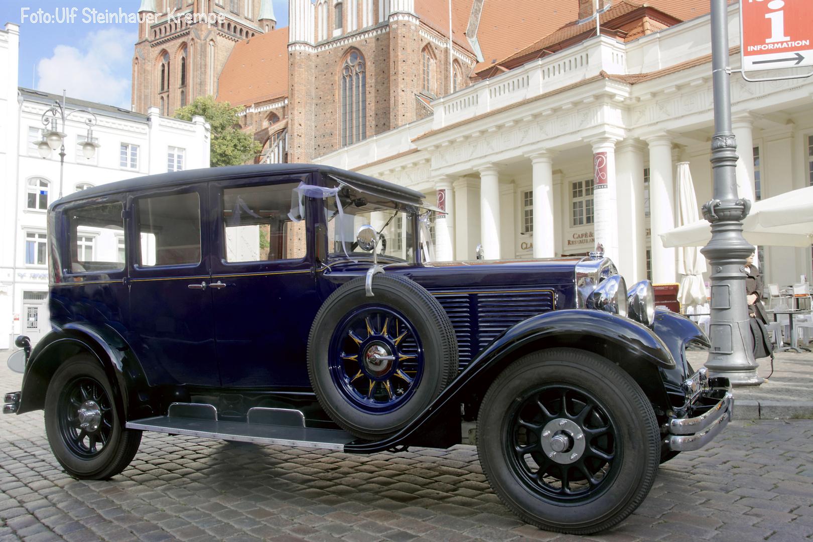Schwerin Hochzeitsauto