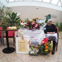 Schwester Doris im Ruhestand