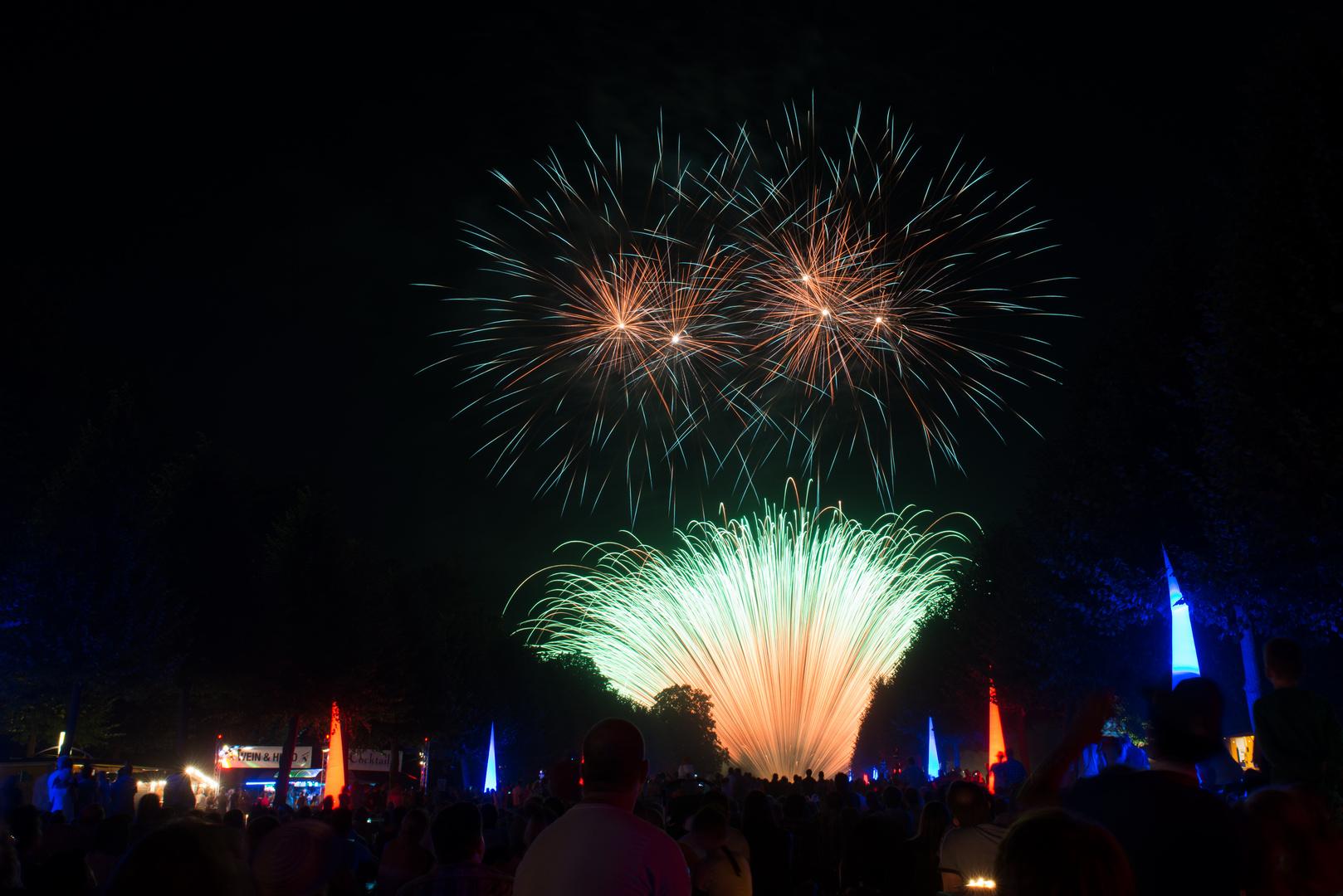 Schwetzinger Lichterfest 2013 Brilliant Feuerwerk