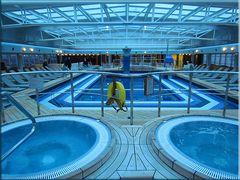 Schwimmen an Deck