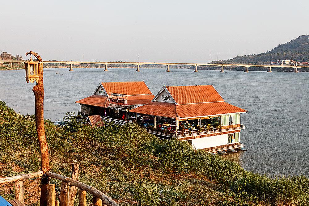 schwimmendes Restaurant