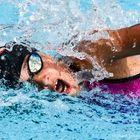 Schwimmerin an der HEAD Trophy 2018