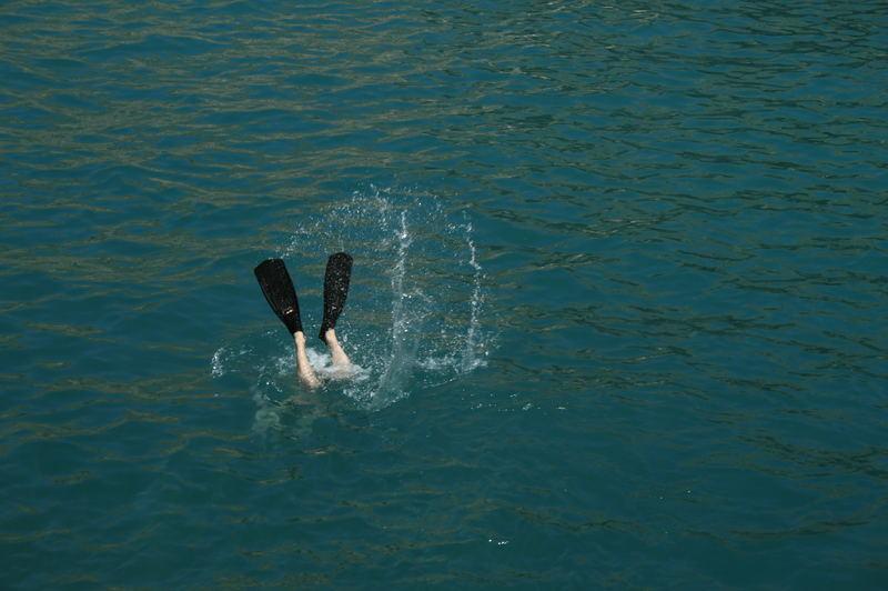 Schwimmhäute Mensch