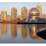 Science World - at sunset