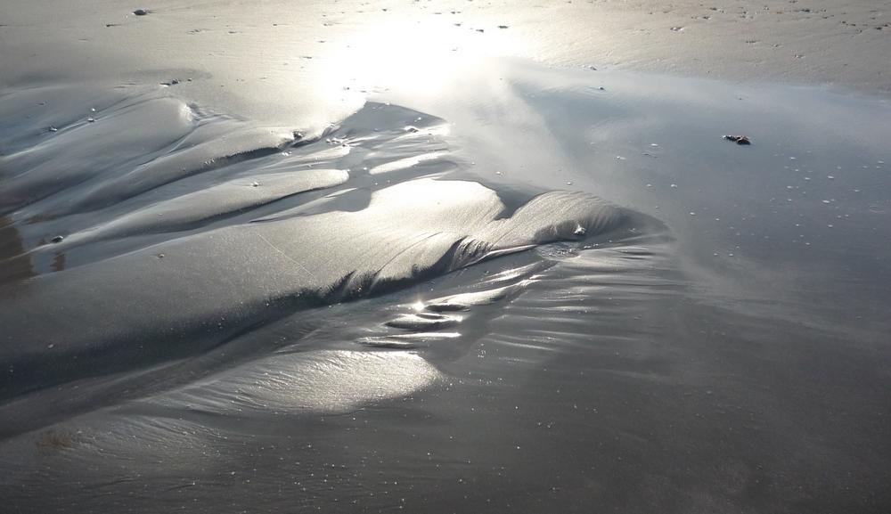 Scintillements sur la plage