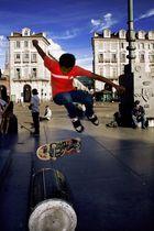 scket board in piazza castello torino