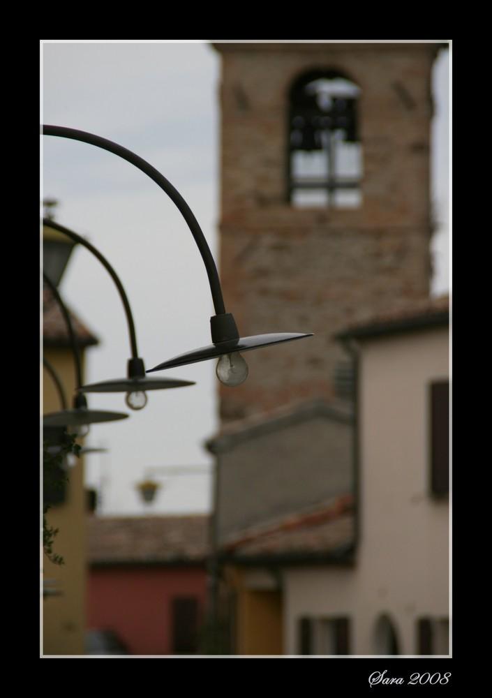 Scorcio campanile di Montebello