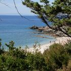 scorcio di mare in Sardegna.