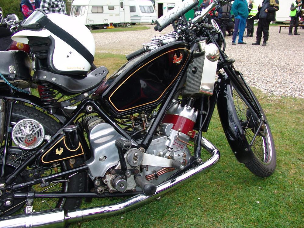 Scott Vintage Motor Cycle