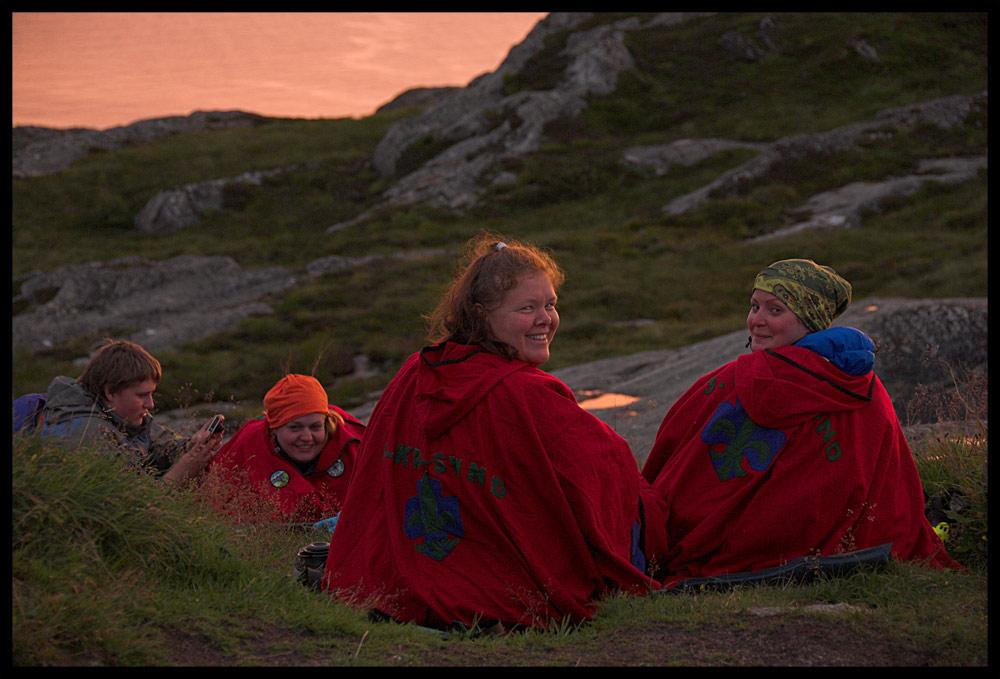 Scouts Sunrise Ceremony