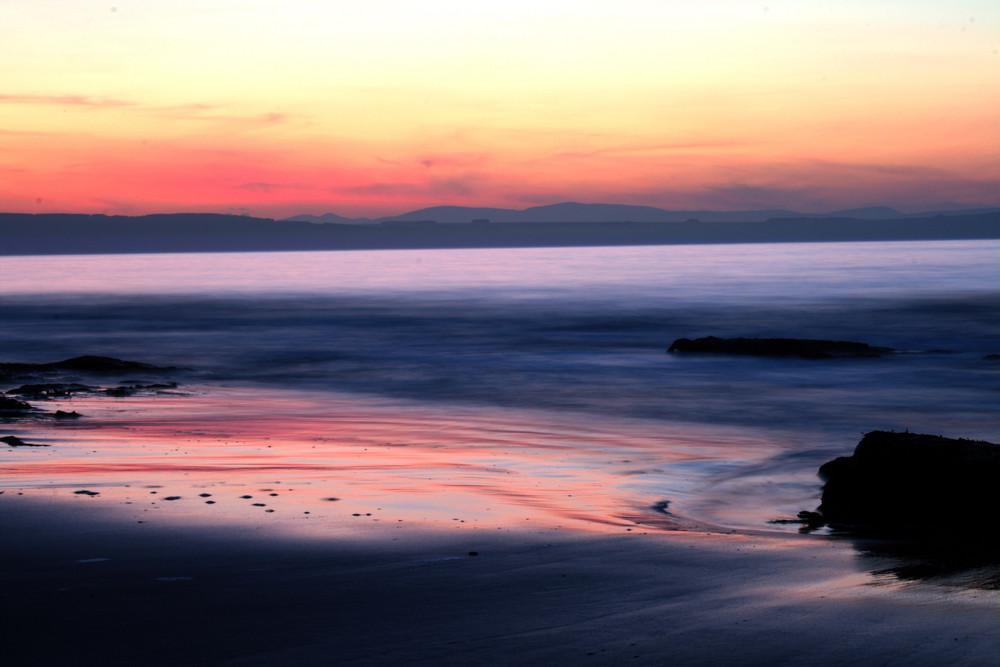 scozia tramonto