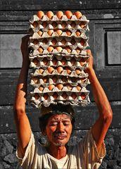 * Scrambled, fried or boiled egg? *