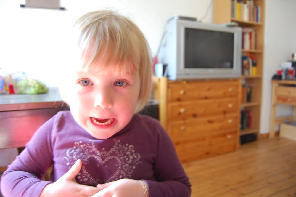 scream little lady