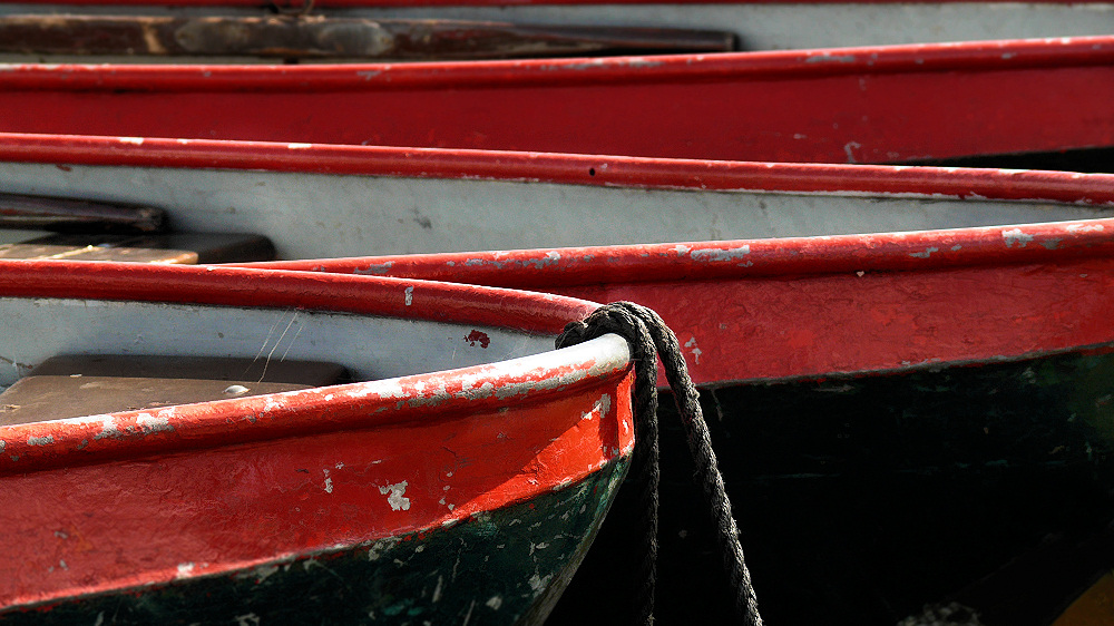 Scruffy boats