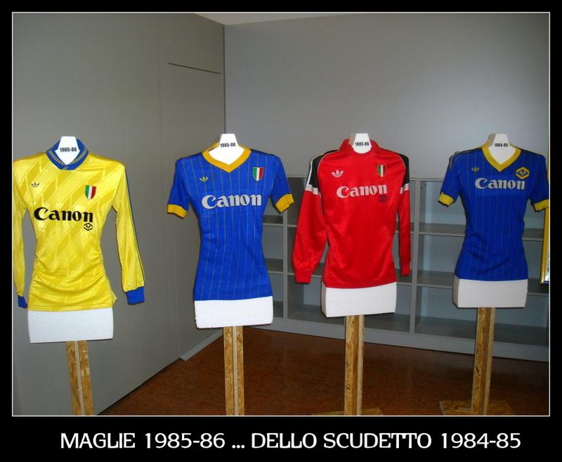 SCUDETTO HELLAS VERONA 1984-85