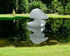 """ Sculpture flottante, Otterlo """