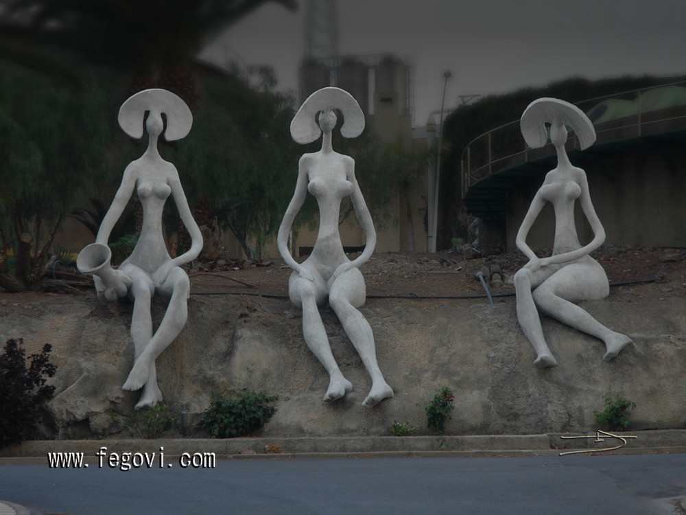 Sculptures in Tenerife