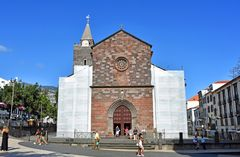 Se Cathedral in Funchal auf Madeira