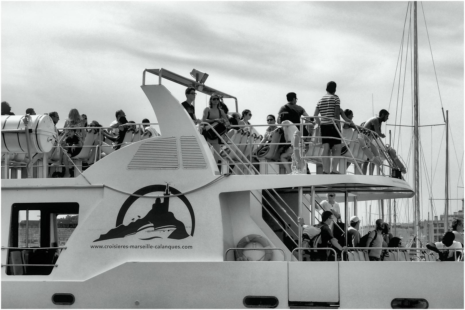 Se faire mener en bateau :-)
