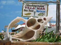 sea food- Insel Holbox Mexiko