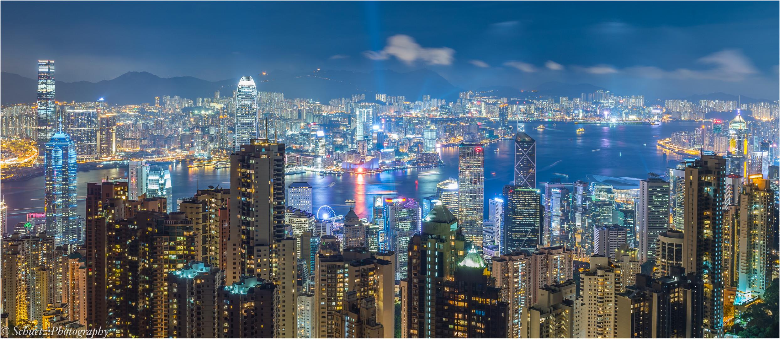 Sea of skyscraper