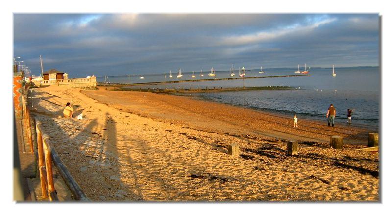 Seaside magic - March light