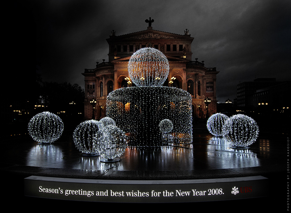 Season's greetings and best wishes for the New Year 2008