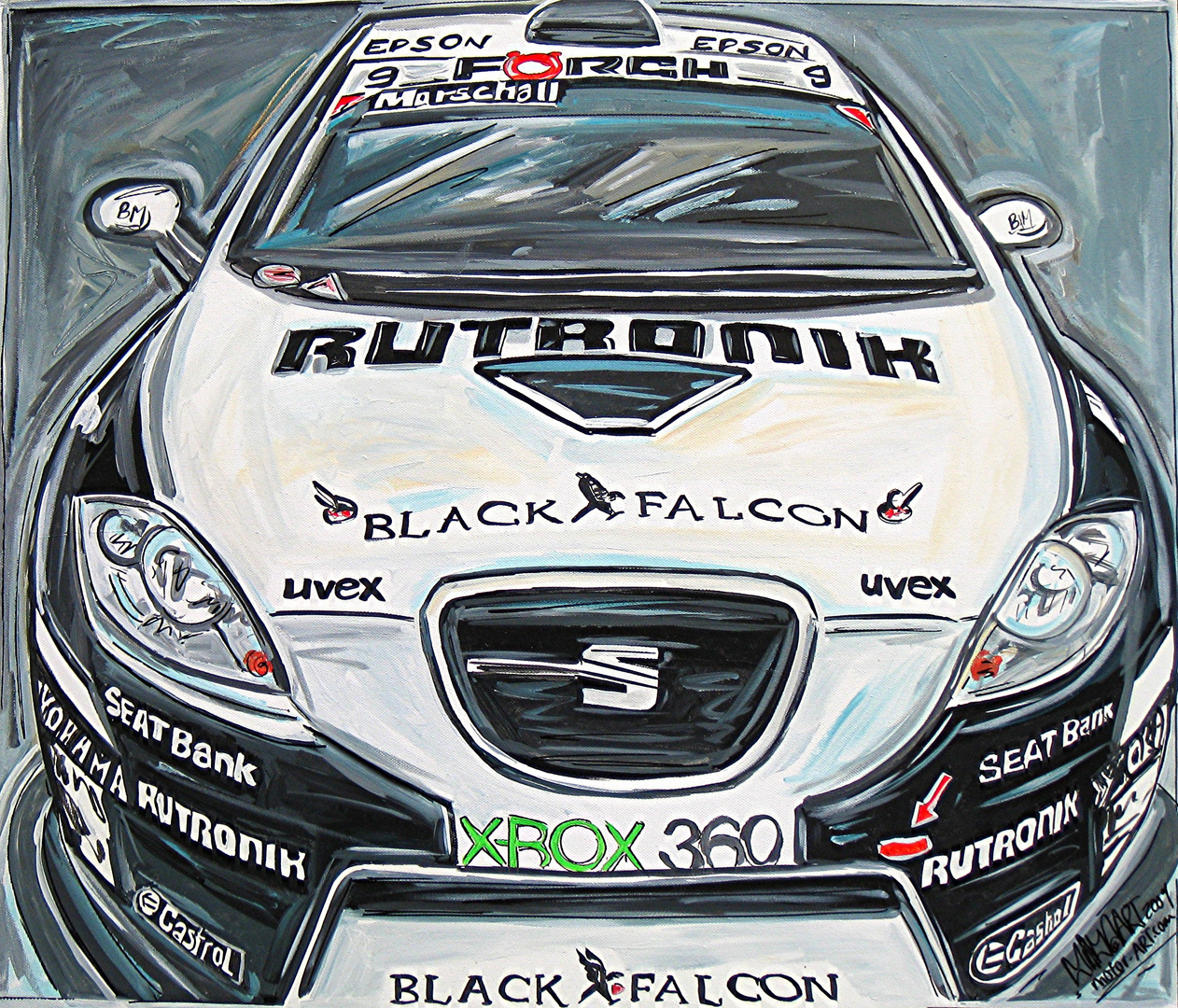 SEAT Super Copa Leon Sieger 2009: Herr Marschall