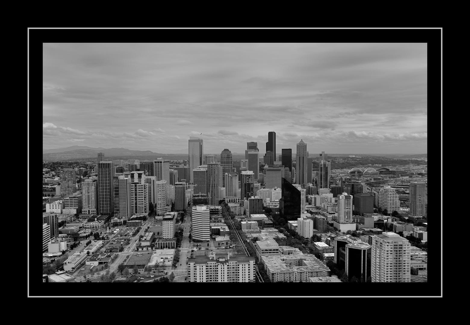 Seattle 2 in schwarz /weiss