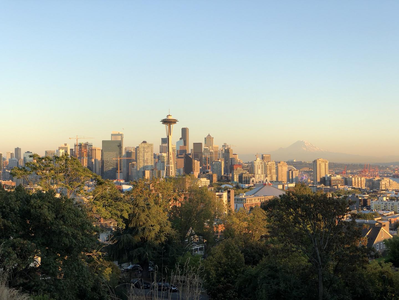 Seattle am Abend