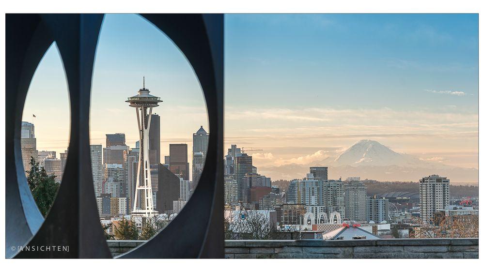 [Seattle I Spaceneedle I Mt Ranier]