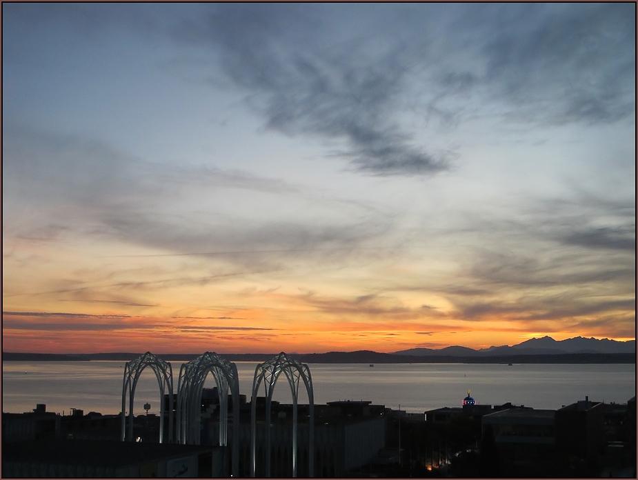 Seattle sundown