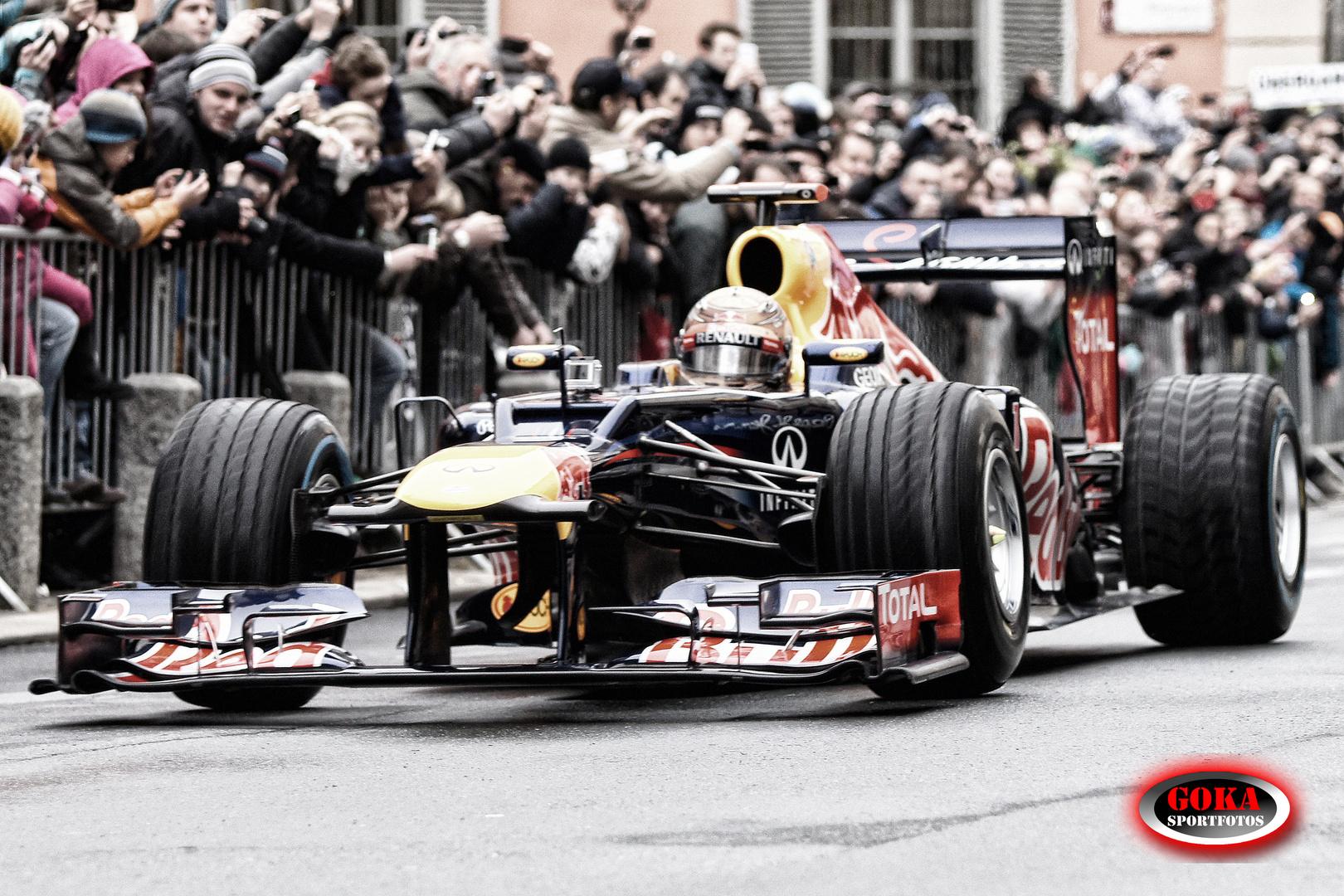 Sebastian Vettel's Showrun in Graz (Österreich)