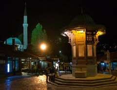 Sebilj Brunnen in Bašèaršijam Sarajevo