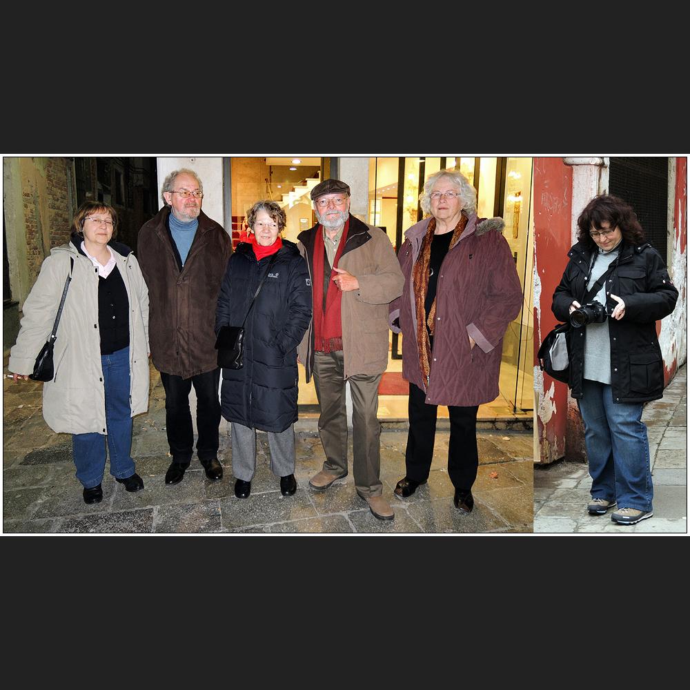 Sechs Foto-Communisten in der Serenissima