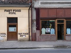 Second Hand und Fast Food in Cluj-Napoca