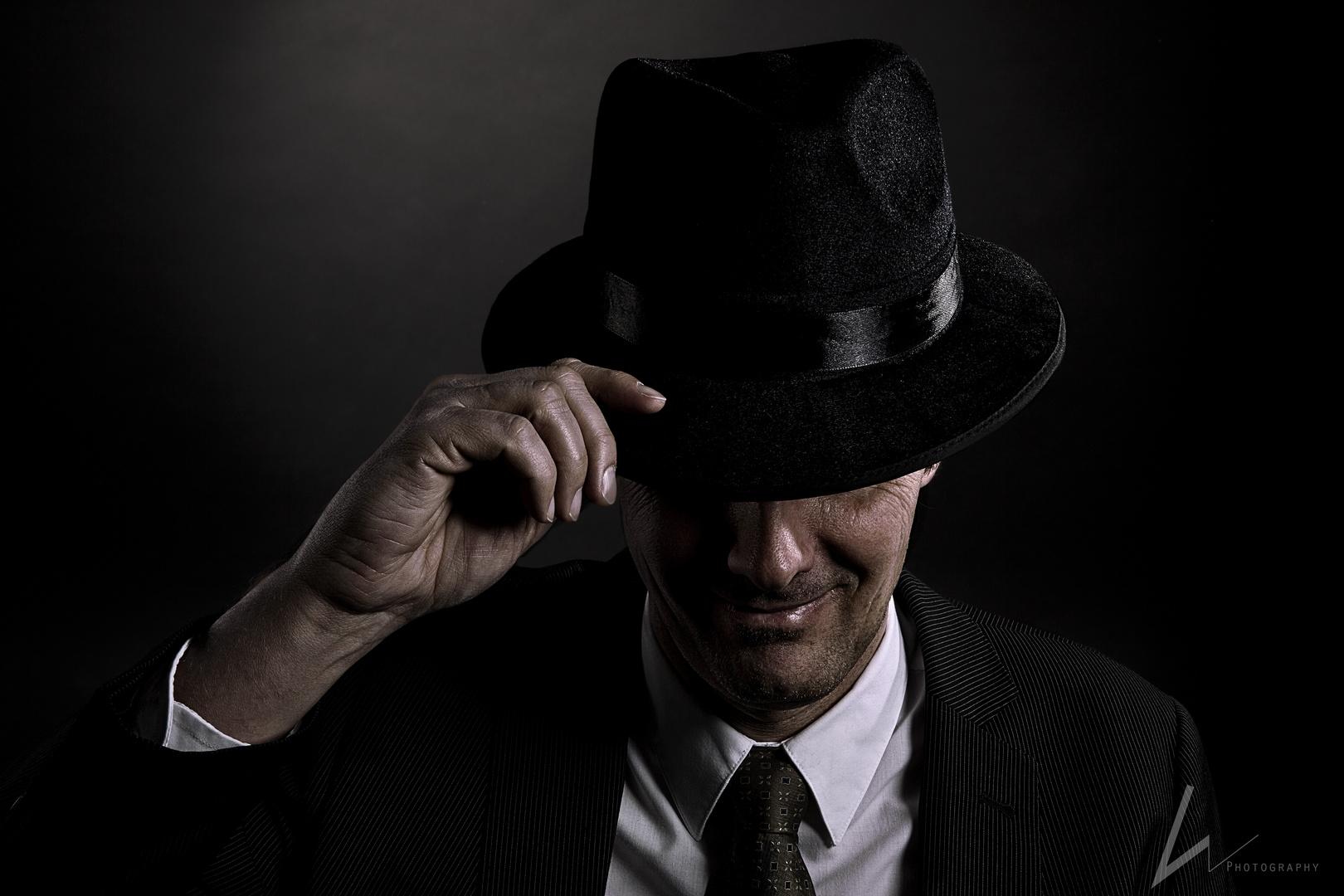 Secret Man in Black