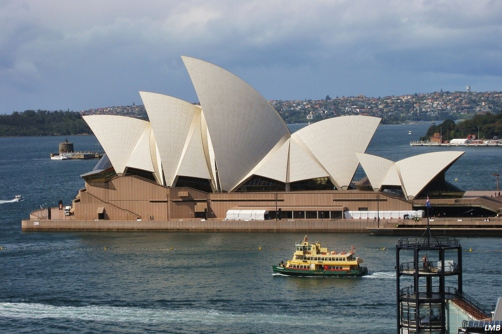 Secured Sydney Opera House