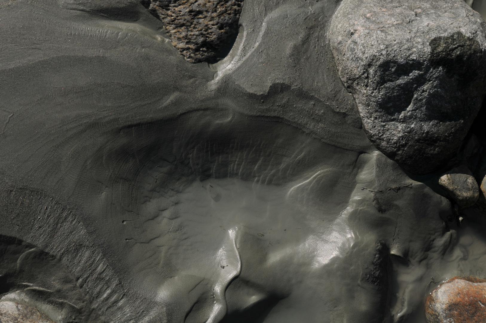 Sedimentstrukturen im Hochgebirge