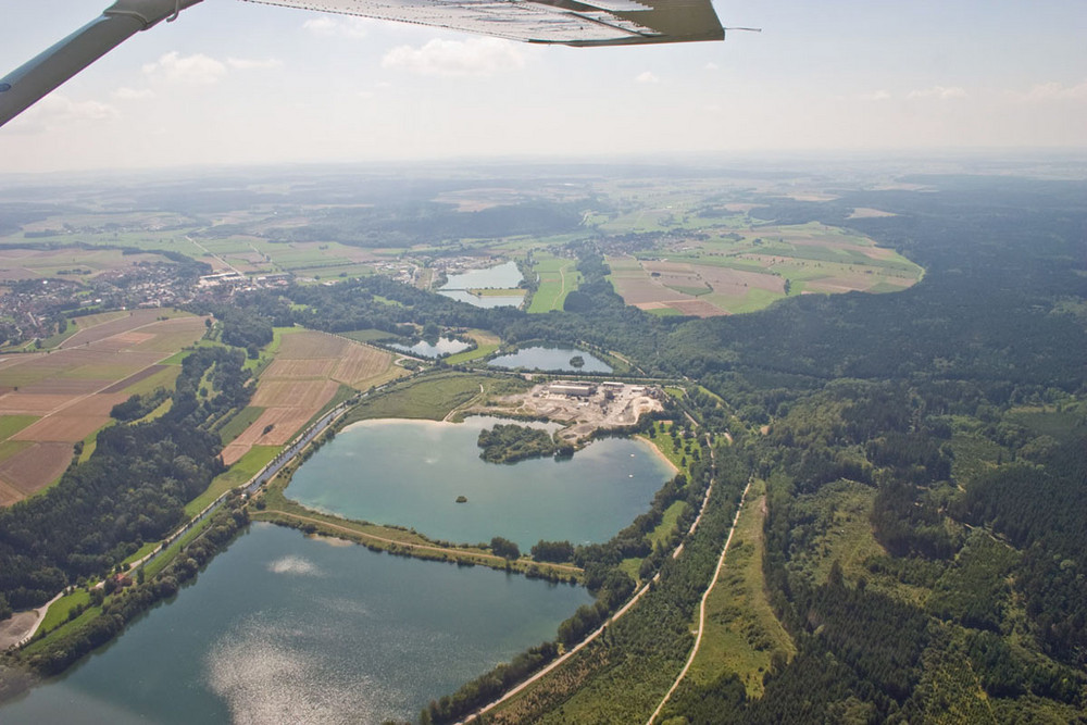See bei Krauchenwies (Baden-Württemberg) Foto & Bild
