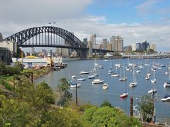 See harbour bridge from north