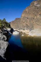 See in der Oase Al Asfar, Oman