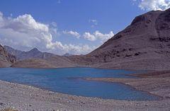 See oberhalb von Alp Sesvenna