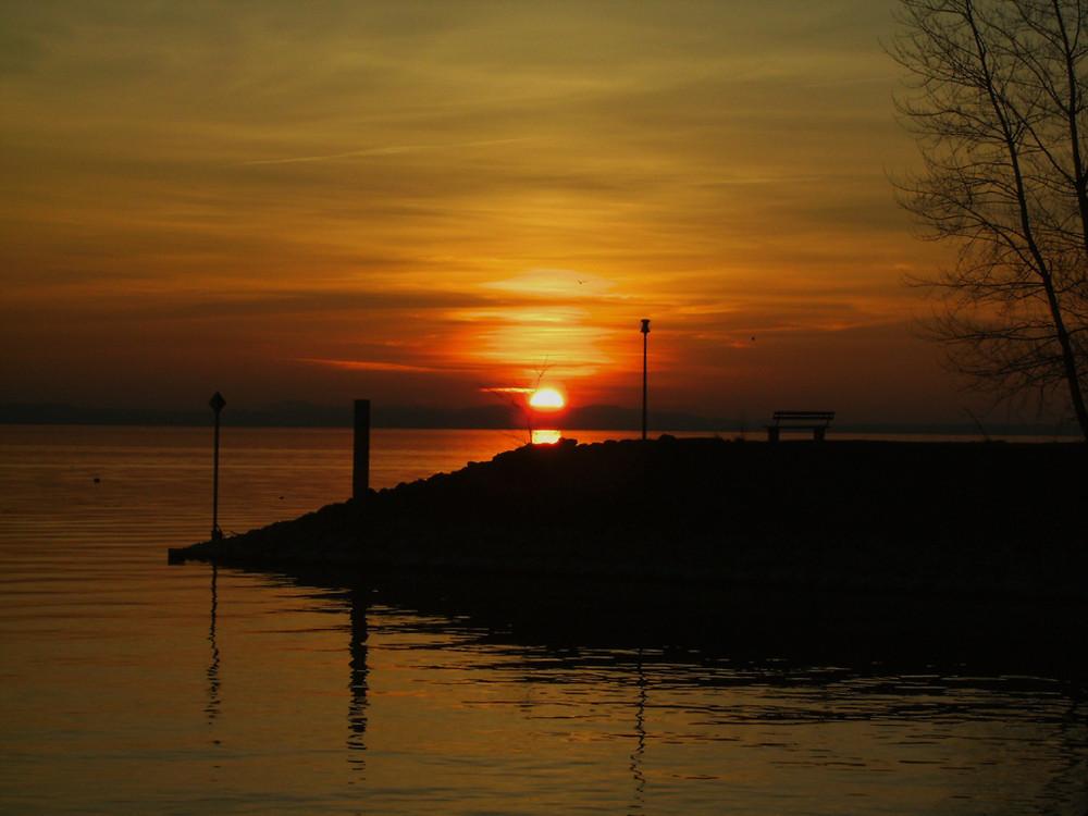 See und Sonnenuntergang 2