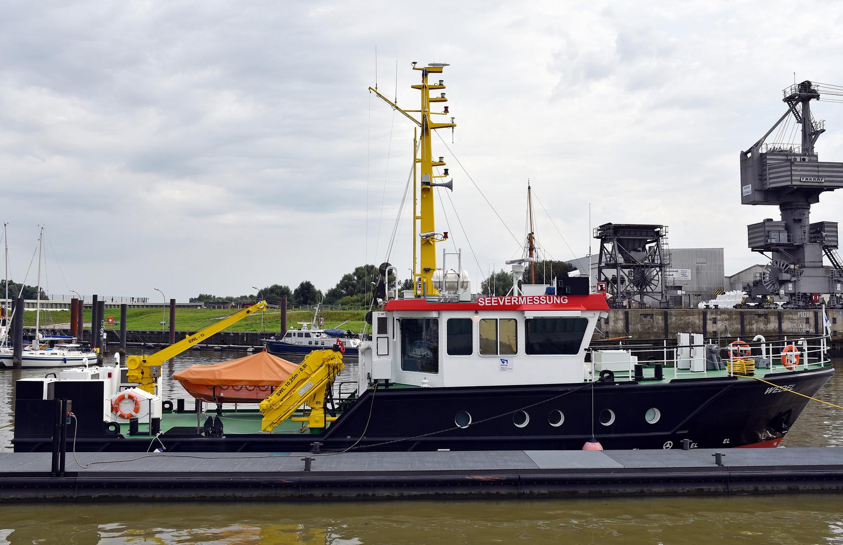 See Vermessungsschiff Wedel