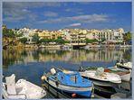 Seeblick in Agios