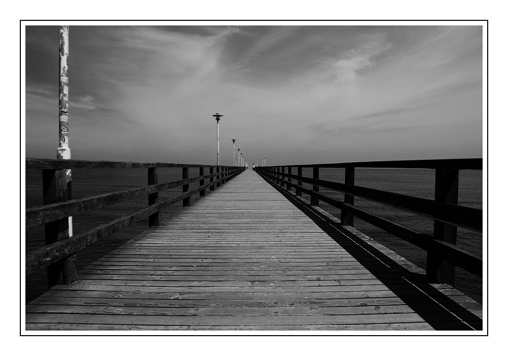 ... Seebrücke in Ahlbeck ...