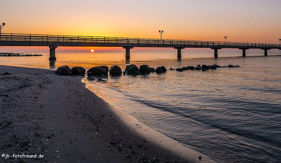 Seebrücke in Grömitz